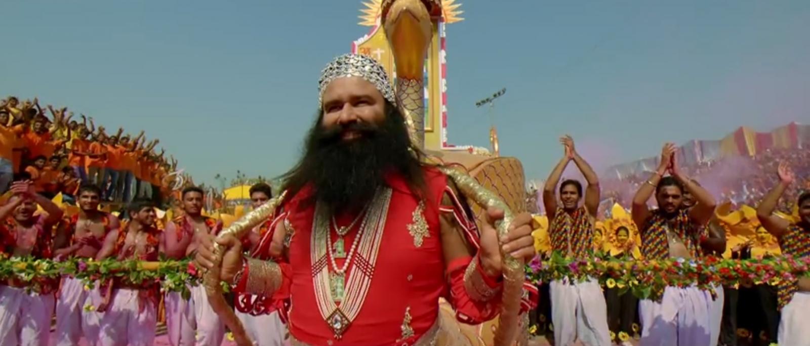Image result for gurmeet ram rahim ravan